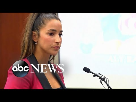 Olympic gold medalist Aly Raisman speaks at Nassar sentencing