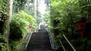 2010_07_07走在箱根神社的聲音