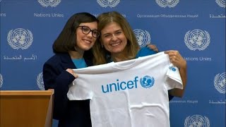 Millie Bobby Brown becomes UNICEF