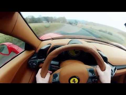 Ferrari 458 Spider - PURE SOUND Driving HARD
