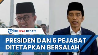 PN Jakarta Pusat Tetapkan Jokowi & 6 Pejabat Lain Bersalah terkait Pencemaran Udara di DKI Jakarta