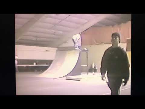 Mason city Iowa indoor skatepark at the fairgrounds. 1998