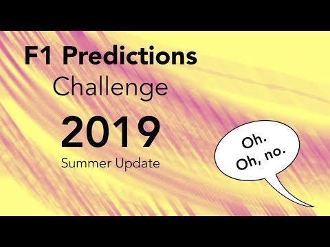 F1 Predictions 2019 - Summer update w/ F1 Word and F1 Reviews