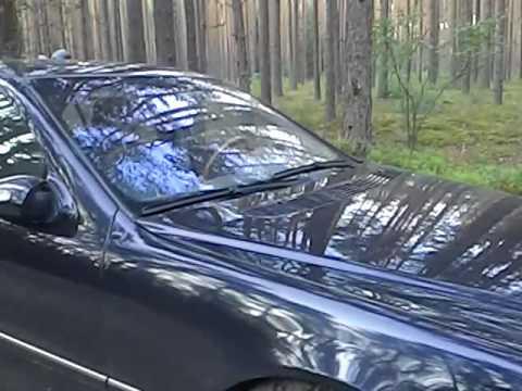 Как открыть багажник на Mercedes w220