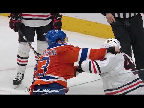 Ryan Nugent-Hopkins vs. Vinnie Hinostroza