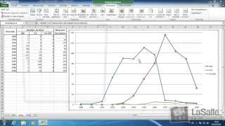 Microsoft Excel 2010 - Les Courbes #E16