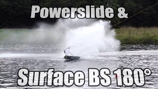 #7 Cablepark Wakeboard Begginer – Powerslide & surface BS 180
