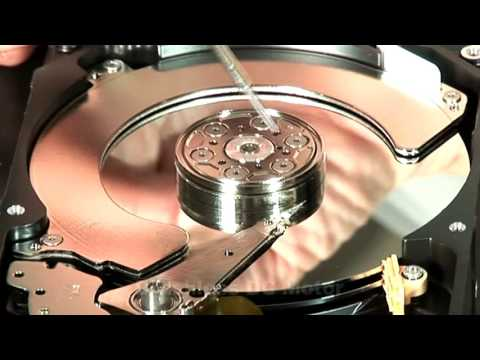 How a Hard Disk Drive Works (2016) An engineer demonstrates how a hard disk drive works [7:22]