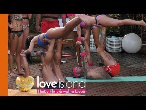 yoga challenge die islander kommen ganz sch  n ins schwitzen
