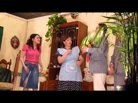 """Scene della commedia brillante """"La Famigghia difittusa"""""""