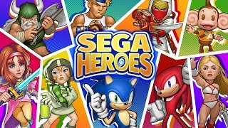 ASSEMBLE YOUR DREAM TEAM! SEGA Heroes™ launches today!