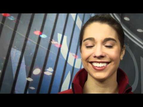 2011 Worlds: Alissa Czisny interview after FS