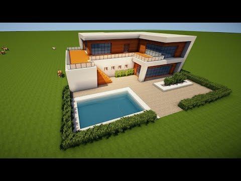 Wie Baut Man Ein Großes Haus In Minecraft Minecraft Großes Haus - Minecraft grobes haus bauen tutorial deutsch