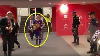 ЧТО СДЕЛАЛ МЕССИ ДЛЯ ИНЬЕСТЫ после матча Севилья - Барселона?