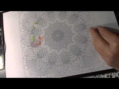 Florasphere Calm Australian Wildflower Coloring Book