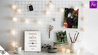 #12 Wedding Invitation Template | Free After Effects Template Download