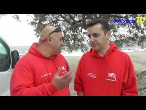 Surf casting marathon Evia 2012