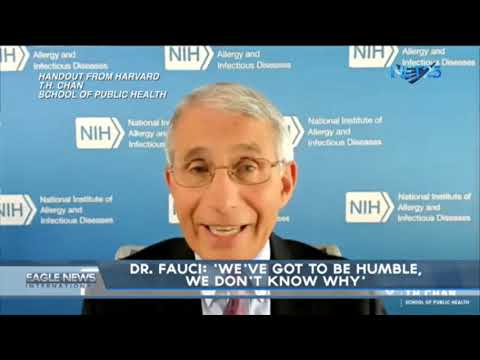 [EagleNewsPH]  Dr. Fauci; 'We've got to be humble, we don't know why