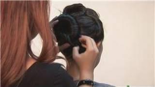 Halloween Make-Up : How To Create A Geisha Hairstyle