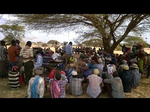 Pastrolist communities in Marsabit county hold peace meeting