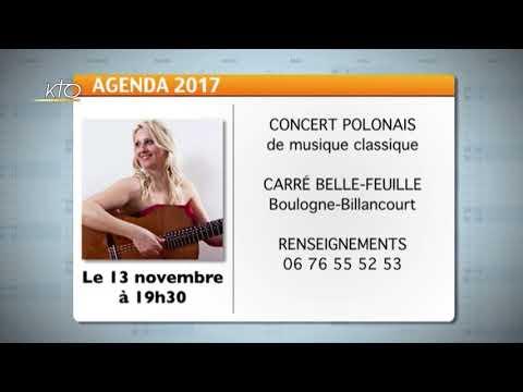 Agenda du 10 novembre 2017