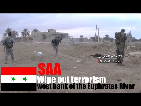 [Syria] December 08 - SAA wipes ISIS off the west bank of the Euphrates River