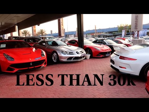 USED SUPERCAR SHOPPING IN DUBAI!!|lamborghini,ferrari,Bugatti,gtr's|