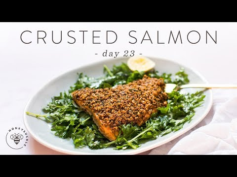A Quick and Easy Recipe of Salmon With a Crust