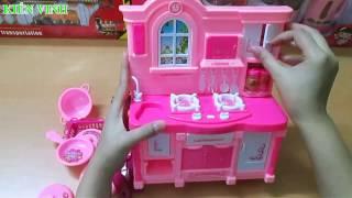 Bộ đồ chơi nhà bếp cho bé - đồ chơi nấu ăn - Toy kitchen play set