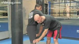 How To Do Bas Rutten's Escape From A Guillotine Choke
