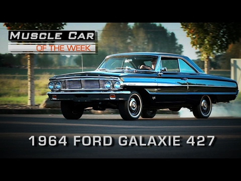 Muscle Car Of The Week Video Episode #190: 1964 Ford Galaxie 500 427 4-Speed R-Code