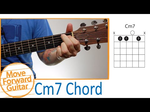 Guitar Chords for Beginners - Cm7