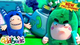 ODDBODS   The Good Old Phone   NEW Full Episode   Cartoons For Children