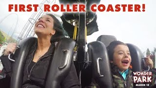 Hannah Takes Her Son On His First Roller Coaster // Presented by Wonder Park