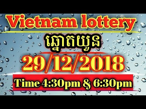 Game Vietnam lottery 29/12/2018 Saturday - Game Lottery - imclips net