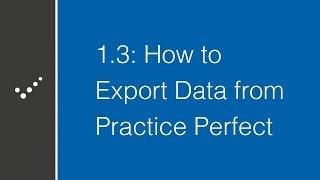 Practice Perfect EMR video