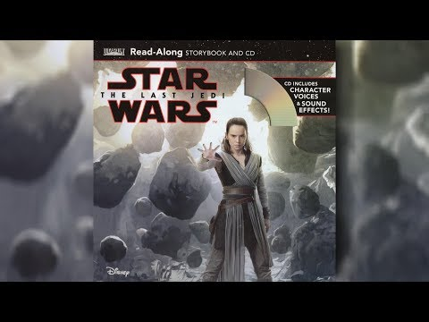 2018 Star Wars The Last Jedi Read Along Story Book And CD