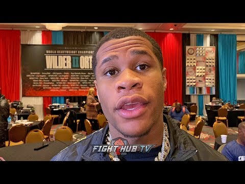 """DEVIN HANEY DETAILS HOW ORTIZ CAN BEAT WILDER; """"HES A BETTER BOXER THAN FURY!"""""""
