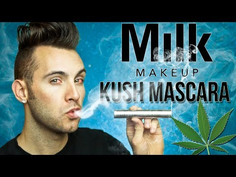 NO BULLSH*T Kush Mascara Review | MILK MAKEUP