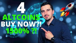 TOP 4 Crypto To Invest In May 2021 🚀|HUGE POTENTIAL 1500% 😱| Altcoin Season |