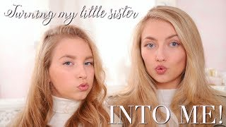 TURNING MY 12 YEAR OLD SISTER INTO ME! ~ Freddy My Love & Coco's World