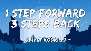 [1 HOUR LOOP] 1 step forward, 3 steps back - Olivia Rodrigo (Lyrics)