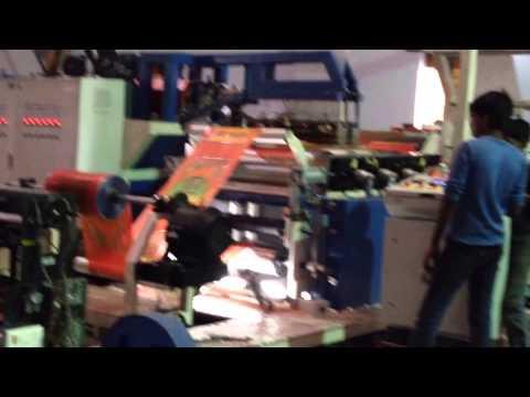 Extrusion Woven Fabric Lamination Machine