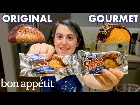 Pastry Chef Attempts to Make Gourmet Choco Tacos Part 2   Gourmet Makes   Bon Appétit