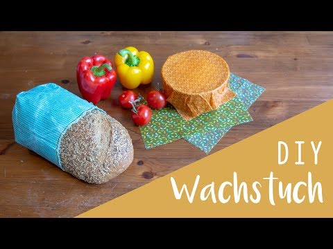 DIY Wachstuch - Alternative Frischhaltefolie, Alufolie, Öko DIY, Zero Waste