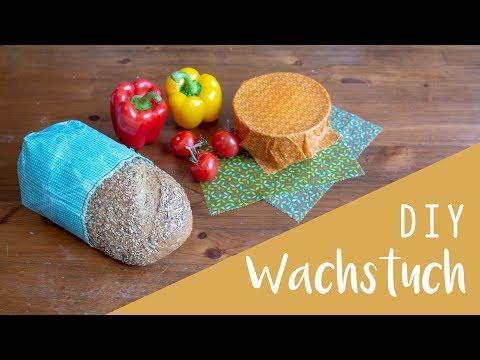 DIY Wachstuch - Alternative Frischhaltefolie, Alufolie, Öko DIY, Zero Waste
