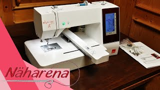 Tipps für die Elna 830L Stickmaschine