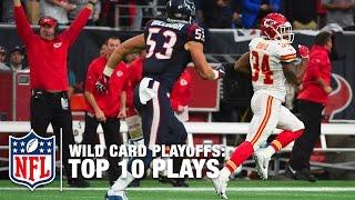 Wild Card Weekend Top 10 Plays (2015 NFL Season) | NFL Highlights