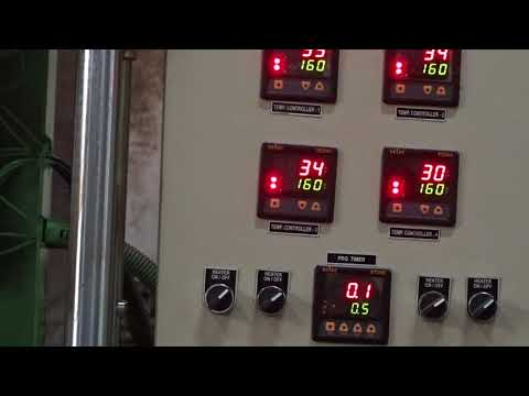 30 Ton Lab Curing Press