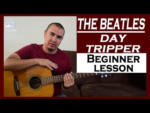 In this lesson we learn the main guitar riff that is played in the opening of the song. Great for beginners.